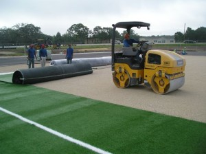 Giddings HS Turf Install